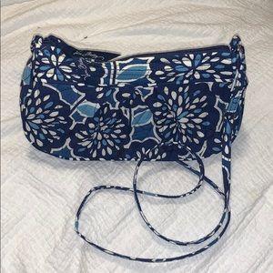 Blue Vera Bradley Crossbody Bag